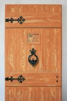 Festett ajtó (részlet)