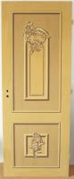 Festett ajtó (kilátással, plasztikus kazettával)