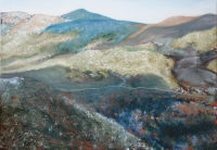 Etna II. - 2010 olaj, vászon, 70×100 cm