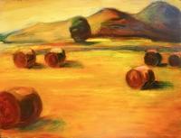 Nyár II. - 2002 olaj, farost, 60x80 cm