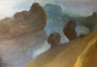 Csongrád - 1998 olaj, vászon, 50×70 cm