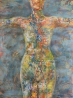 Női természet 2013 olaj, vászon, 120×90 cm