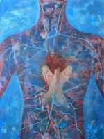 Érfonalak  - 2013 olaj, vászon, 120×90 cm