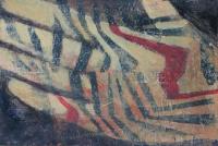 Életfonal II. - 2014 akril, karton, 10×15 cm