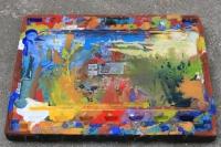 Tájkép palettával alulnézetből