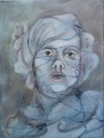 Éled a kastély - 2013 olaj, vászon, 40×30 cm