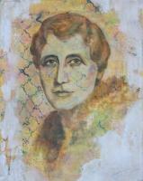 Károlyi Erzsébet grófnő - 2013 olaj, vászon, 50×40 cm