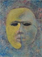 Téli holdfény - 2013 olaj, vászon, 40×30 cm