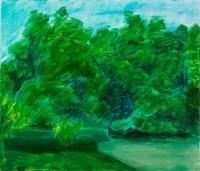 Vihar előtt  - 2004 olaj, vászon, 60x70 cm