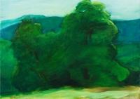 Faportré  - 2004 olaj, vászon, 50x70 cm