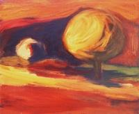 Nyár I.  - 2002 olaj, vászon, 50x60 cm