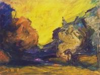Ősz  - 2002 olaj, vászon, 45x60 cm