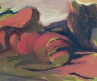 Csongrádi árterület - 2000 olaj, vászon, 50×60 cm