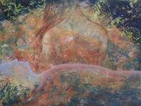Test és lélek - 2013 olaj, karton, 92×1- 20 cm