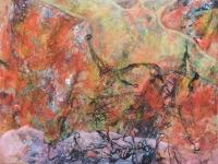 Szeretem ezt a testet - 2013 olaj, karton, 92×1- 20 cm