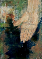 Magvető - 2015 olaj, farost, 35×25 cm