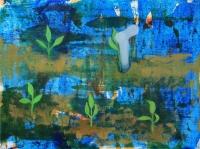 Özönvíz után - 2015 olaj, vászon, 60×80 cm