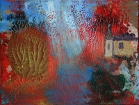 Tanya III. - 2015 akril, olaj, karton, 15×20 cm