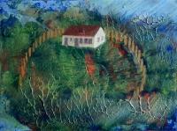 Tanya II. - 2015 akril, olaj, karton, 15×20 cm