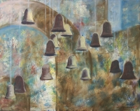 Harangok I. - 2012 olaj, vászon, 80×100 cm
