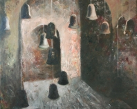 Harangok II. - 2012 olaj, vászon, 80×100 cm