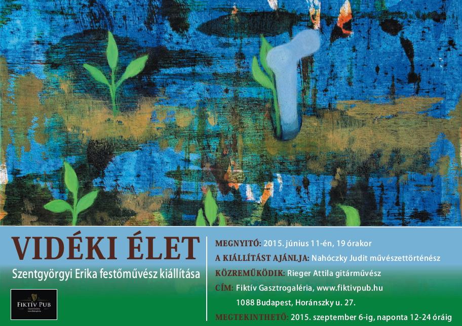 Vidéki élet - kiállítás a Fiktív Gasztrogalériában